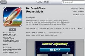 Rocket Math – Award Winning Math Game